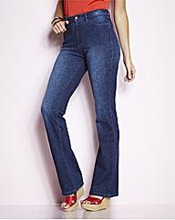 Straight Leg Jersey Jeans 29in