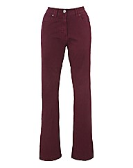 Petite Coloured Bootcut Jeans 25in