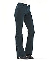 Coloured Bootcut Jeans Length 28in