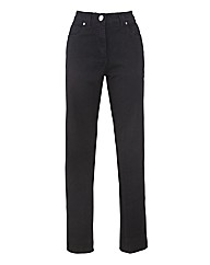Petite Coloured Straight Leg Jeans 25in