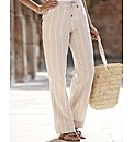 Linen Trouser Length 29in