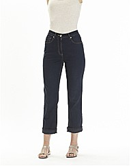 Crop Straight Leg Jeans 19in