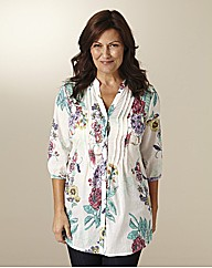Floral Print Cotton Tunic