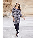 Print Cotton Jersey Tunic