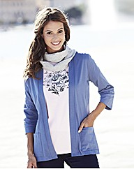 3 in 1 Jacket T-Shirt and Scarf Set