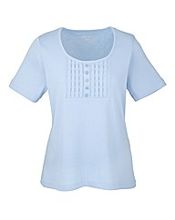 Pale Blue Short Sleeve T-Shirt