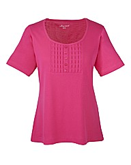 Fuchsia Short Sleeve T-Shirt