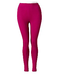 Hot Pink Leggings Length 28in