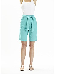 Pack Of 2 Cotton Belted Shorts