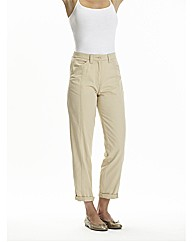 Cotton Chino Trousers 29in