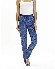 Printed Trouser Length 29in