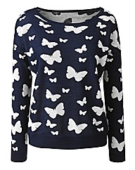 Butterfly Design Jumper