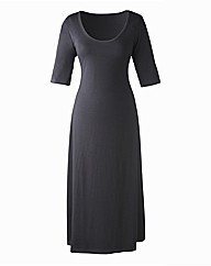 Plain Jersey Dress Length 50in