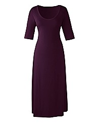 Petite Plain Jersey Dress
