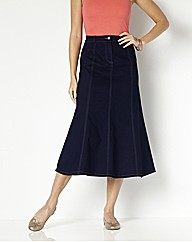 MAGISCULPT Denim Skirt Length 33in