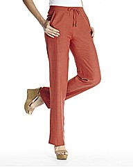 Linen Mix Trousers 31in
