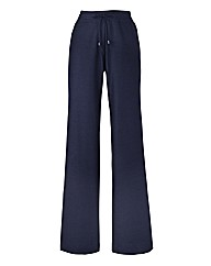 Linen Mix Trousers 29in