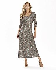 Jersey Print Dress 45in