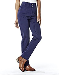 Helena Slim Leg High Waist Jean 31in