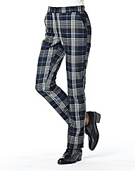 Tartan Slim Leg Trouser