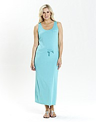 Plain Jersey Maxi Dress 50in