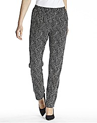Print Trouser Length 27in