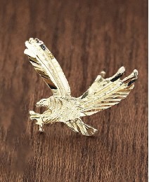 9ct Gold Eagle Stud Earring