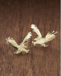 9ct Gold Eagle Stud Earring Set