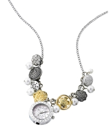 Accessorize Charm Pendant Watch