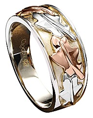 Clogau Sterling Silver Royal Oak Ring
