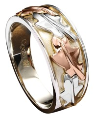 Clogau Silver Royal Oak Ring