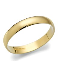 Ladies 9ct Light Weight Wedding Band