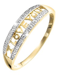9ct Gold Diamond-Set