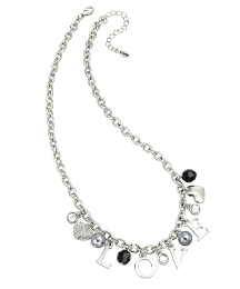 Fiorelli Love Heart Charm Necklace