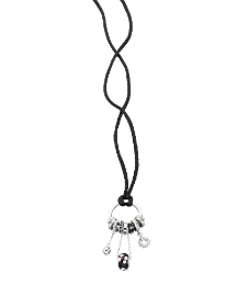 Fiorelli Multi Charm Bead Necklace