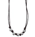 Fred Bennett Knot Bead Necklace