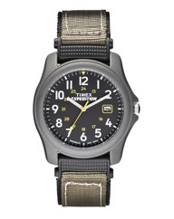 Timex Expedition Gents Green Strap Watch