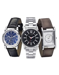 Personalised Gents Watch Trio Set