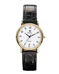 Royal London Gents Black Strap Watch