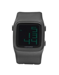 Converse Gents Black Silicon Strap Watch