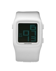 Converse Gents White Silicon Strap Watch