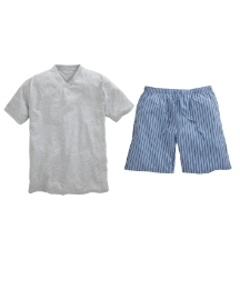 Premier Man Pyjama Short Set