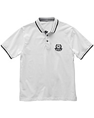 Short Sleeve Pique Polo Shirt Long