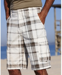 Southbay Check Cargo Shorts