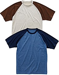 Southbay Pack of 2 T Shirts