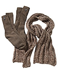 Jeep Scarf and Sock Set
