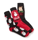 Pack of Three Christmas Socks