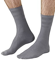 HJ Hall Pack of 2 Extra Wide Socks