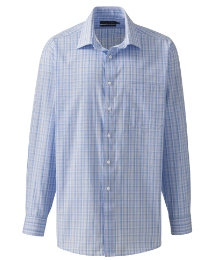 Double Two Long Sleeve Check Shirt