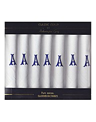 Pack of 7 Initial Hankies